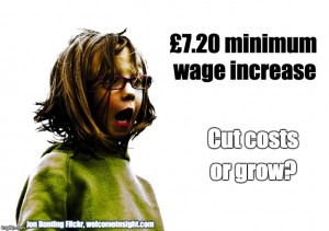 £7.20 minimum wage increase